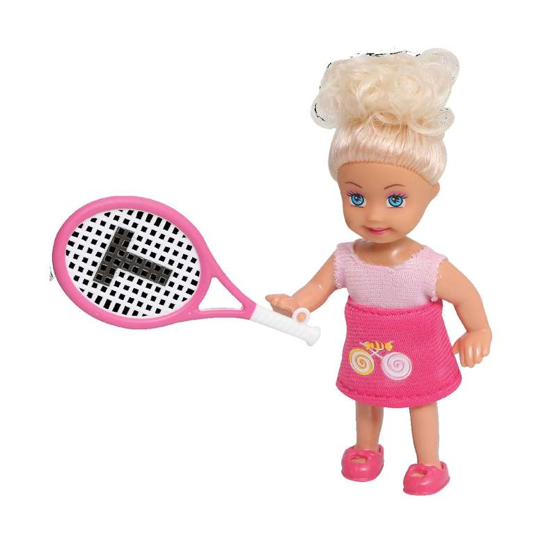 Lollas Petite Tenis Oynayan Sarışın Bebek