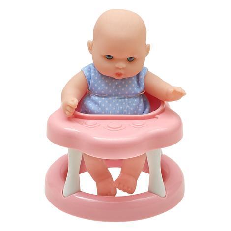 Lolla Yürümeyi Öğreniyor Aksesuarlı Bebek