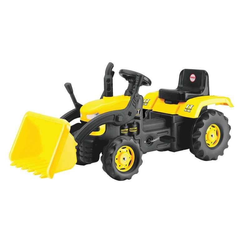 Kepçeli Pedallı Traktör