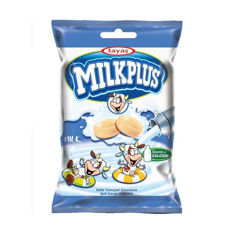 Milkplus Sert Şeker Süt Dolgulu 80 G