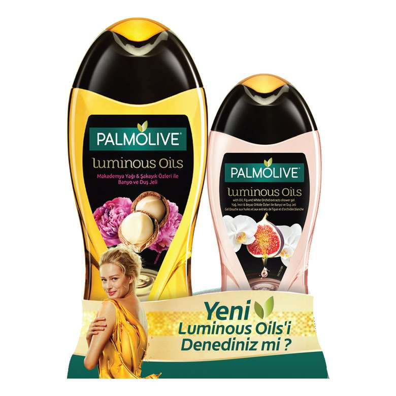 Palmolive Duş Jeli Luminous Oils 500+250 Ml