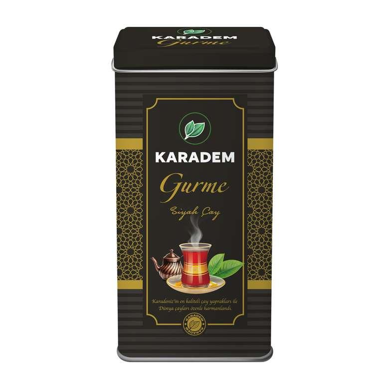 Karadem Çay Gurme Teneke Kutu 500 G