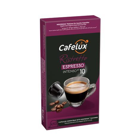 Cafelux Ristretto Espresso Kahve Kapsülü
