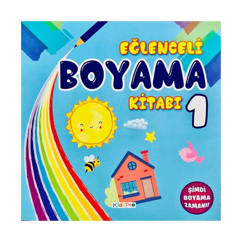 Eglenceli Boyama Kitabi 1 A101