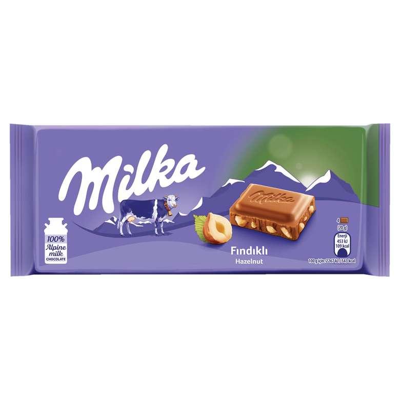 Milka Çikolata Fındıklı 80 G