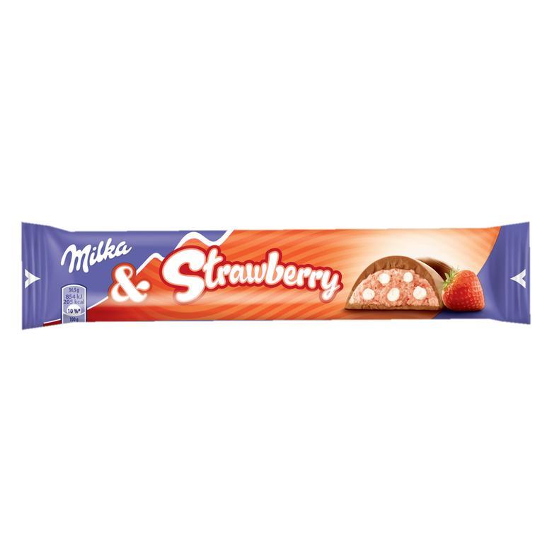 Milka Bar Çikolata Çilekli 36,5 G