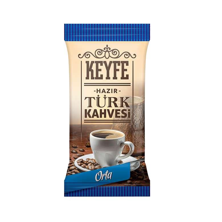 Keyfe Hazır Tek İçimlik Türk Kahvesi Orta 7 - 9 G