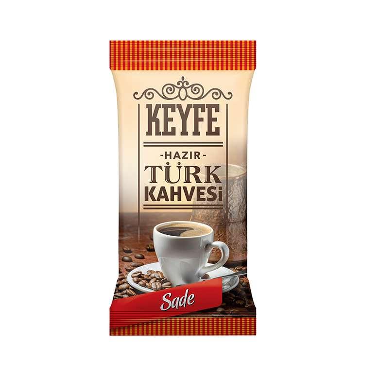 Keyfe Hazır Tek İçimlik Türk Kahvesi Sade 7 - 9 G