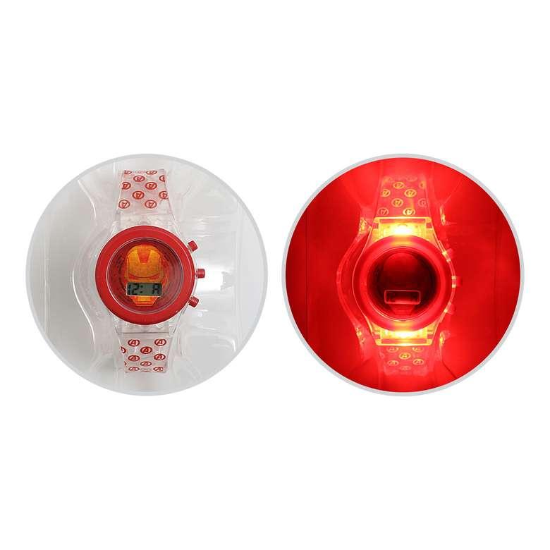 Iron Man Led Işıklı Dijital Kol Saati