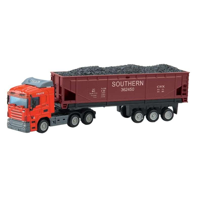Citycode Diecast Tır 1:64  Kömür Taşıma