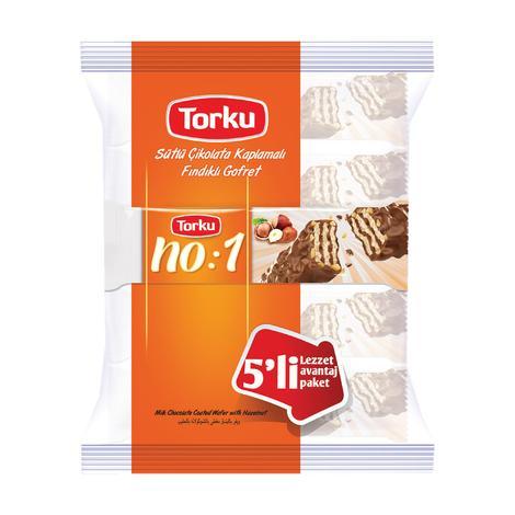 Torku No:1 Fındıklı Gofret 5x32 G