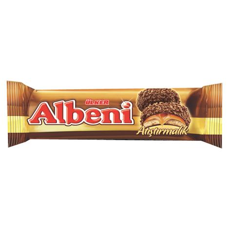 Ülker Albeni Bisküvi Çikolatalı Karamelli 72 G