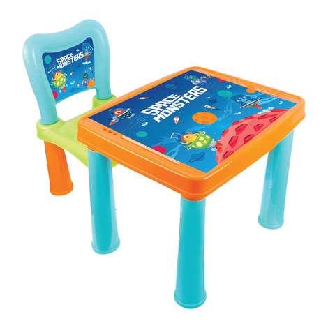 Oyuncak Etkinlik Masası ve Sandalyesi