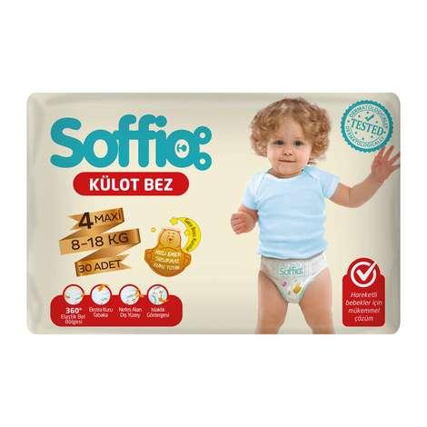 Soffio 4 Numara  Maxi 30'lu Külot Çocuk Bezi
