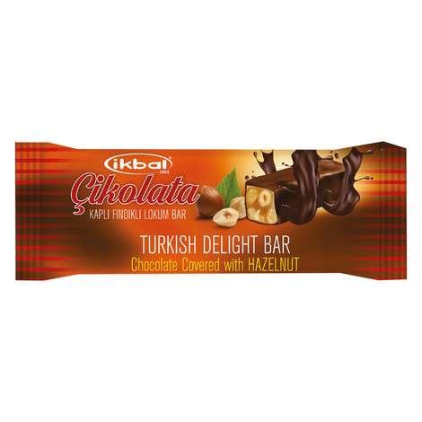 İkbal Lokum Çikolata Kaplı Fındıklı 20 G