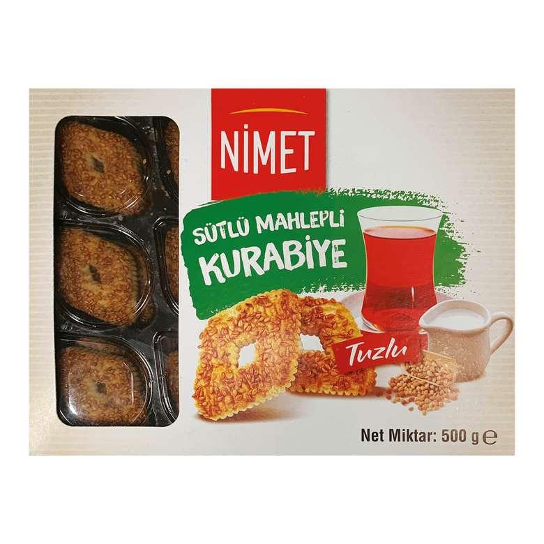 Nimet Kurabiye Sütlü Mahlepli 500g