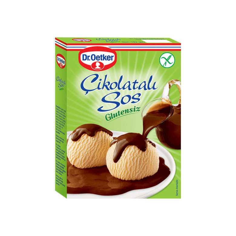 Dr.Oetker Glutensiz Çikolatalı Sos 128g