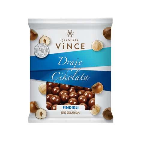 Vince Draje Çikolata Kaplı Fındıklı 60 G