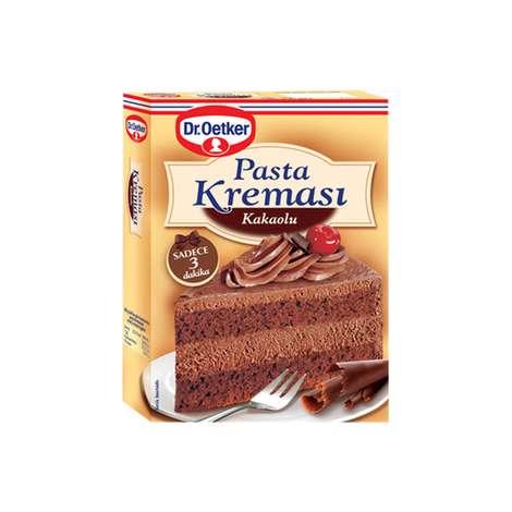 Dr.Oetker Çikolatalı Pasta Kreması 156gr/180gr