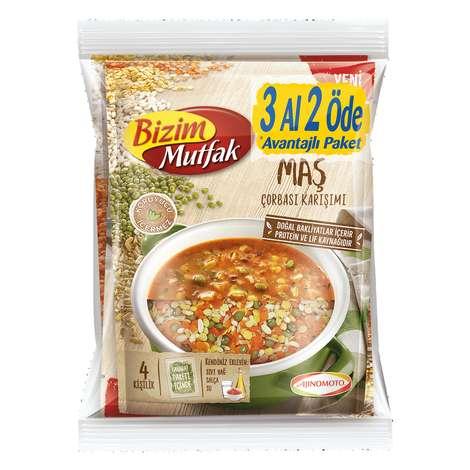 Bizim Mutfak Çorba Bakliyatlı 3'lü 377,5 G