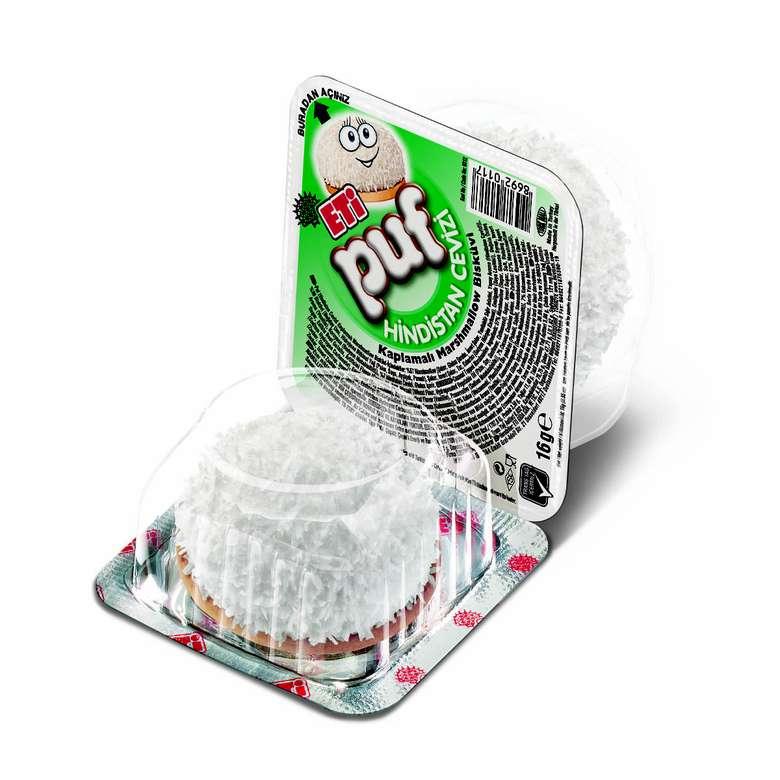 Eti Puf Bisküvi Hindistan Cevizli Marshmallow 16 G