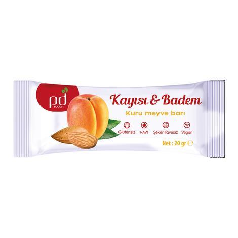 Pd Foods Bar Kayısılı&bademli 20 G