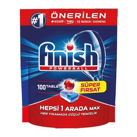 Finish Bulaşık Makinesi Tableti Hepsi 1 arada 100'lü