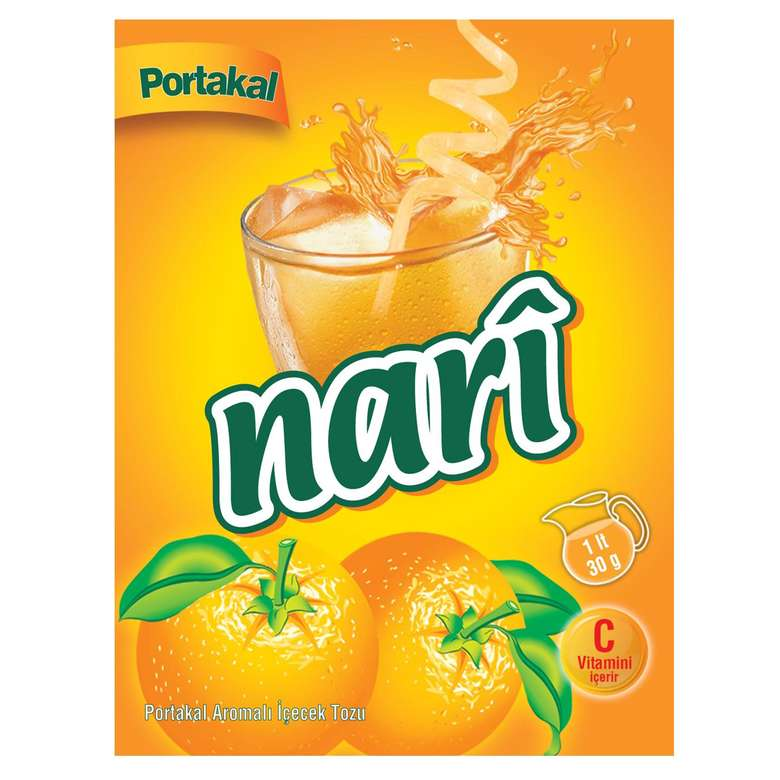 Nari Toz İçecek Portakal 30 G