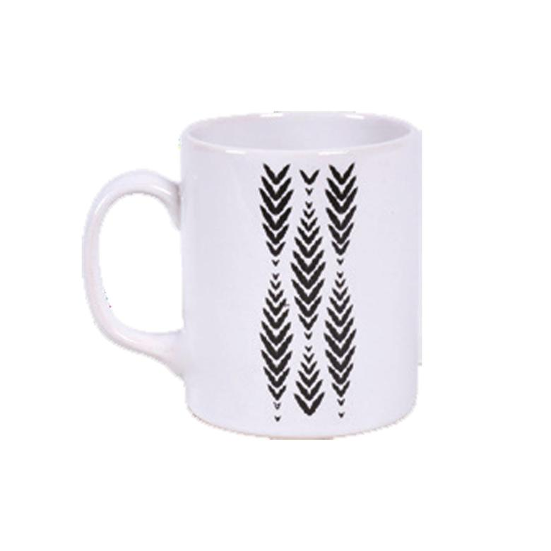 Keramika Kupa Siyah Dekor Kupa 10 Cm