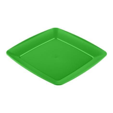 Hobbylife Servis Tabağı Kare - Yeşil