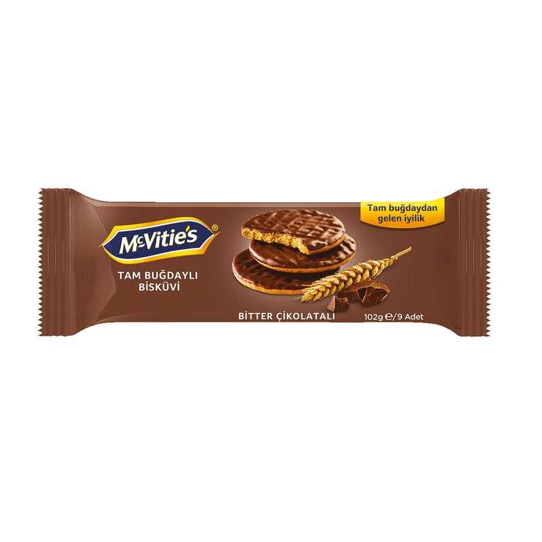 McVitie's Bisküvi Bitter Çikolata kaplı 102 G