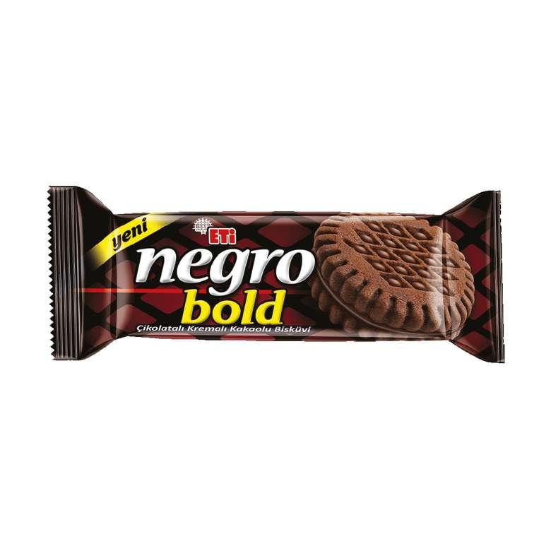 Eti Negro Bold Bisküvi Çikolata Kremalı Kakaolu 120g