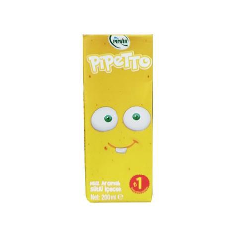 Pınar Pipetto Süt Muzlu 200 Ml