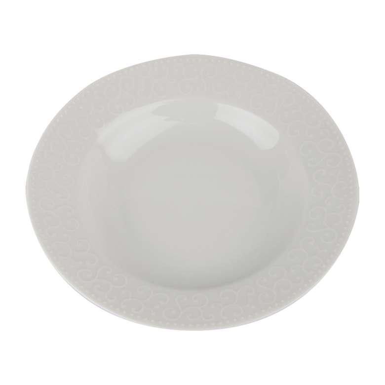 Porland Porselen Ürünler 19 Cm İdil Çukur Tabak