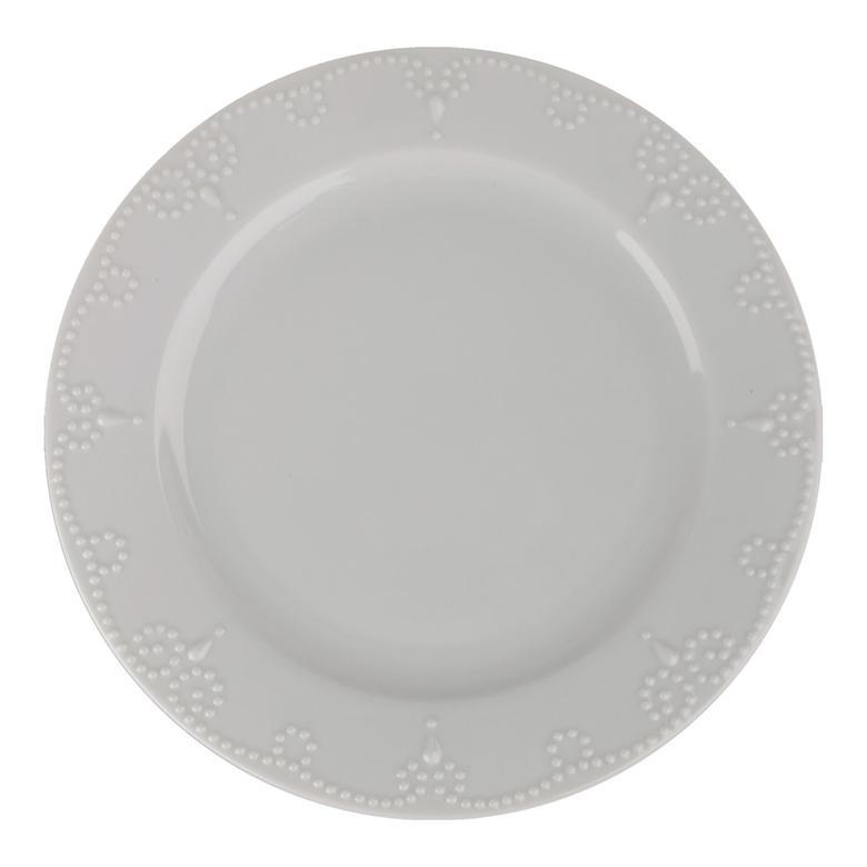 Porland Porselen Ürünler 20 Cm Helis Düz Tabak