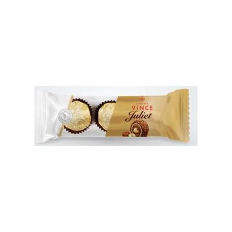 Vince Juliet Çikolata Bütün Fındıklı Pirinç Patlaklı 38 G