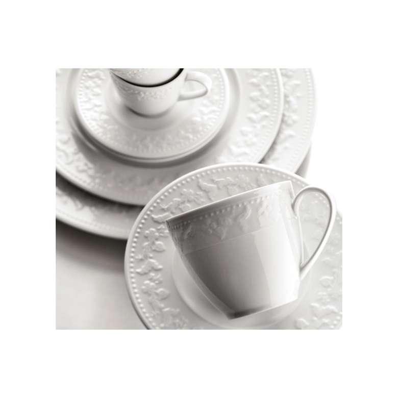 Kütahya Porselen Rölyefli Kahve Fincan Takımı 6'lı