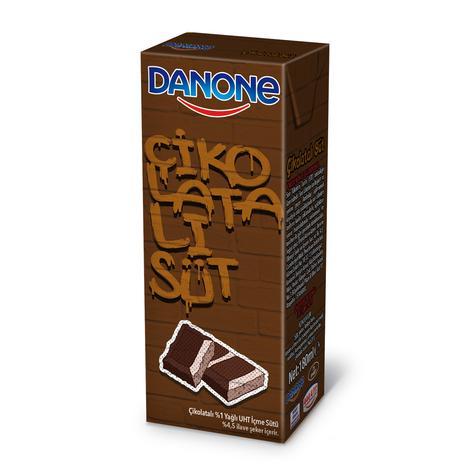 Danone Süt Kakaolu 180 Ml