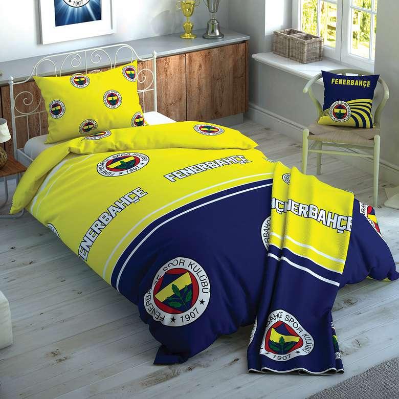 Taraftar Lisanslı Nevresim Set Fenerbahçe