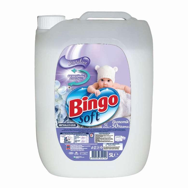 Soft Bingo Çamaşır Yumuşatıcısı 5 L