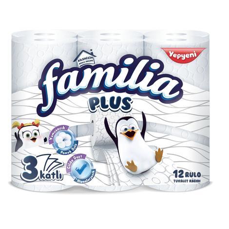 Familia Plus Tuvalet Kağıdı 3 Katlı 12li