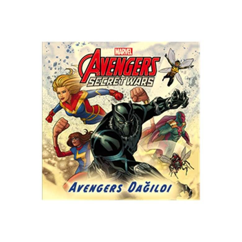 Avengers Secret Wars - Avengers Dağıldı Hikaye Kitabı
