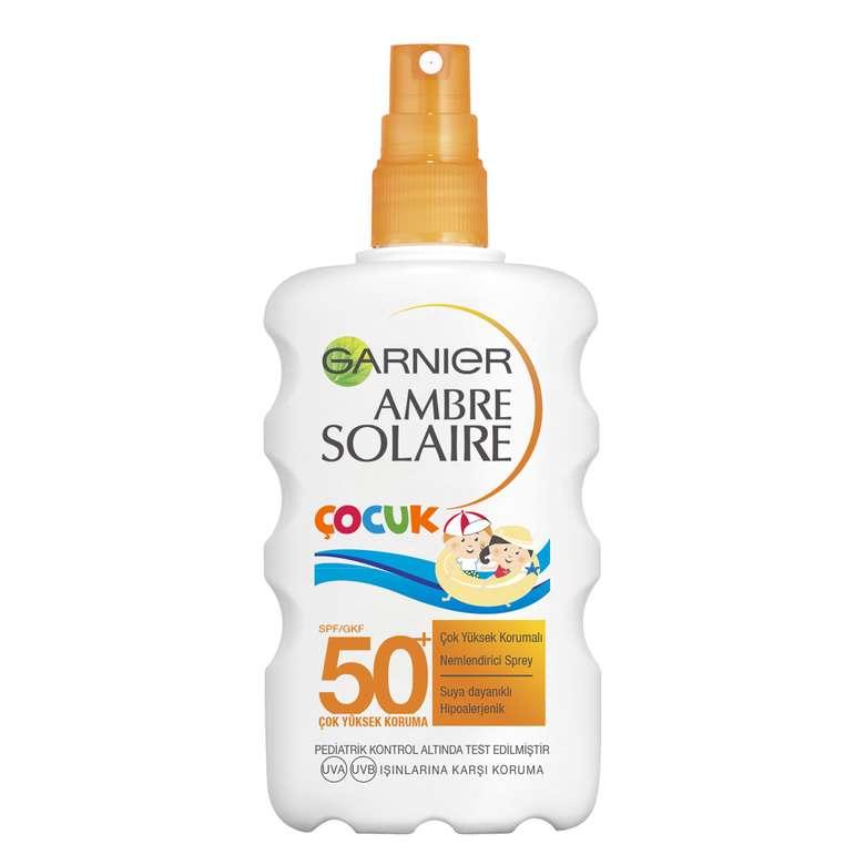 Ambre Solaire Çocuk Güneş Sütü SPF50+ 200 Ml