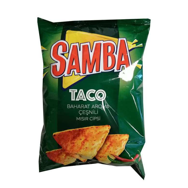 Samba Taco Mısır Cipsi  130 Gr