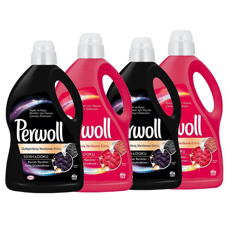 Perwoll Temizlik Paketi 4'lü 3 Lt