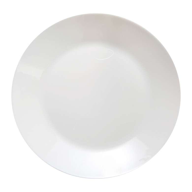 Luminarc  Servis Tabağı Beyaz 25 Cm