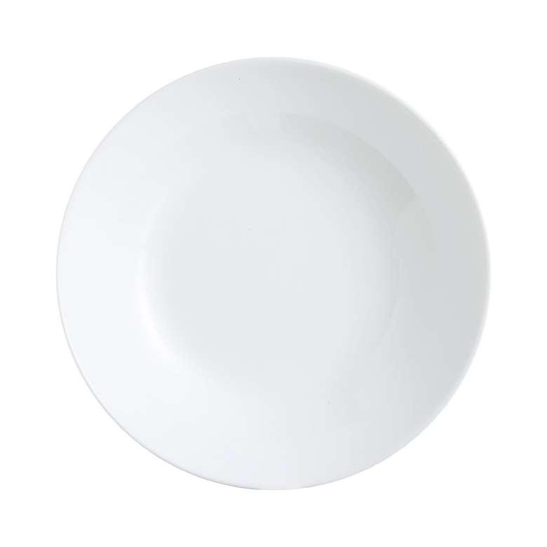 Luminarc  Yemek Tabağı Beyaz 21 Cm