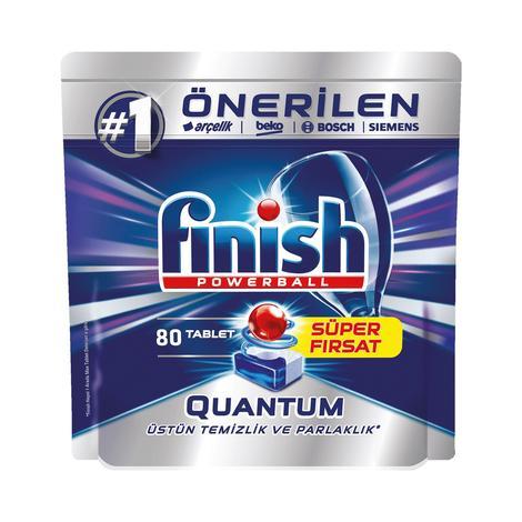 Quantum Finish Bulaşık Makinesi Tableti 80'li