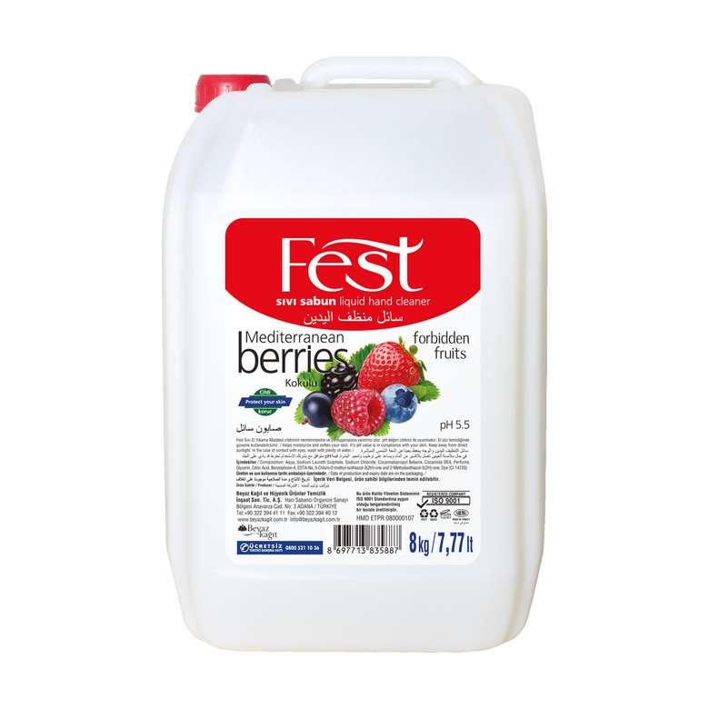 Fest Sıvı Sabun 8 Kg