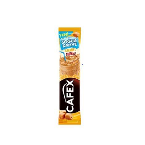 Cafex Ice Latte Karamel Aromalı 16 G